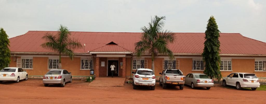 Sironko District Headquarters front view